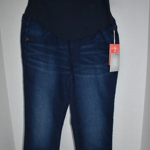 a:glow Maternity Crop Jeans Dark Wash New Jegging